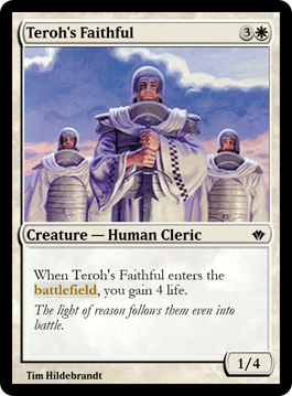 Teroh's Faithful