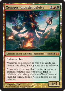 Xenagos, dios del deleite