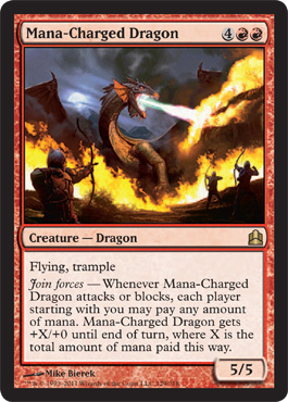 Mana-Charged Dragon