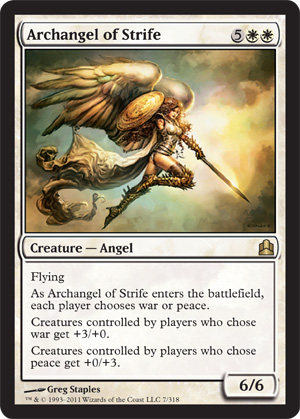 Magic: The Gathering Commander famous card