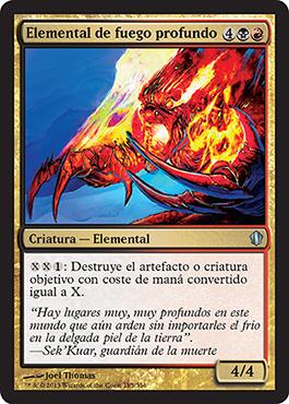 Elemental de fuego profundo