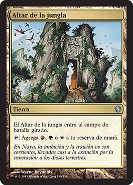 Altar de la jungla