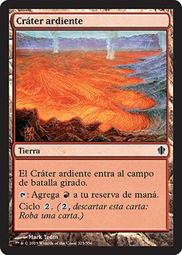 Cráter ardiente
