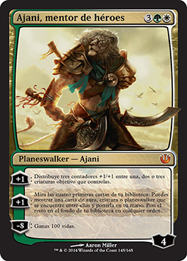 Ajani, mentor de héroes