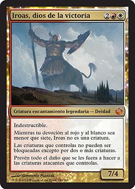 Iroas, dios de la victoria