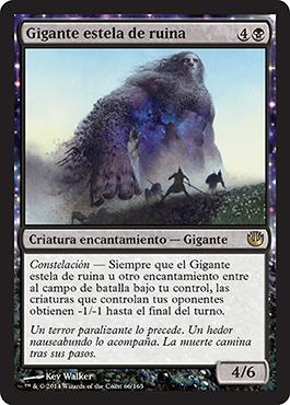 Gigante estela de ruina