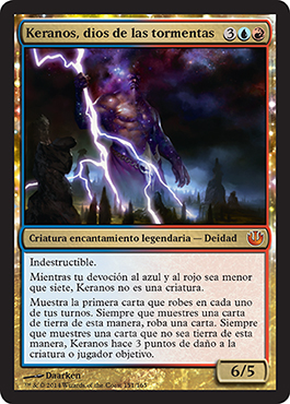 Keranos, dios de las tormentas