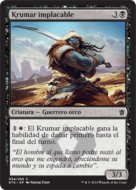 Krumar implacable