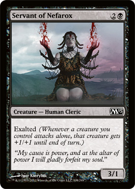 Servant of Nefarox