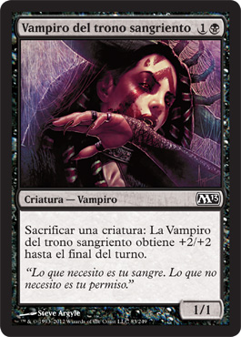Vampiro del trono sangriento