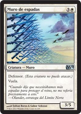 Muro de espadas