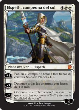 Elspeth, campeona del sol