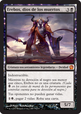 Erebos, dios de los muertos