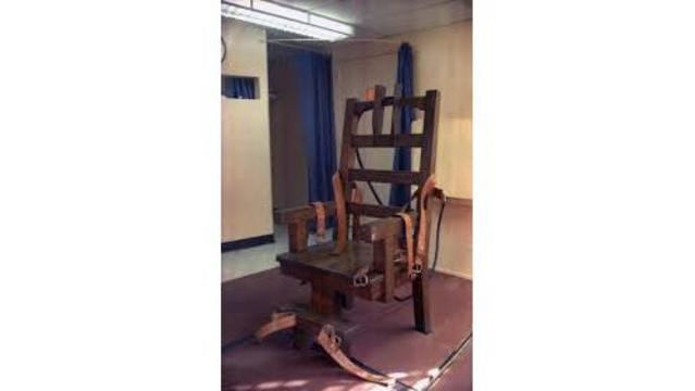 florida electric chair red bungee death row inmate demanding the