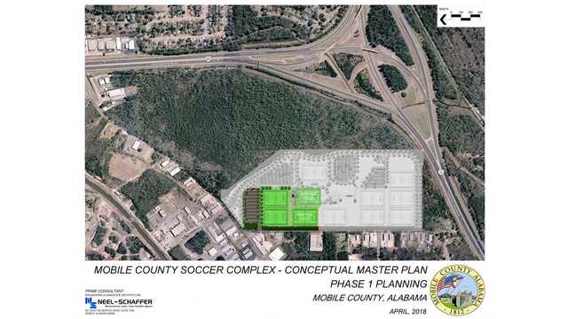 Mobile County Commissioners approve soccer complex