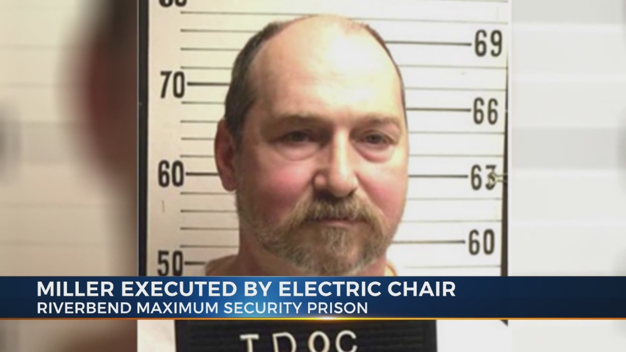 death by electric chair video bean bag at target beats being on row tennessee executes david earl miller after 36 years
