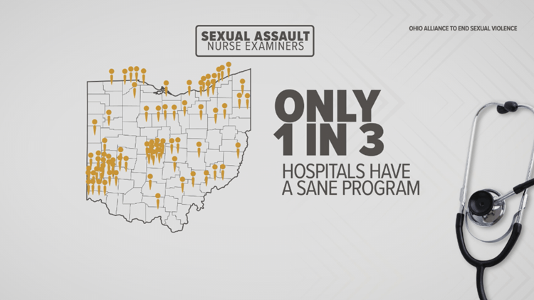 3News: Critical shortage of sexual assault nurses in Ohio
