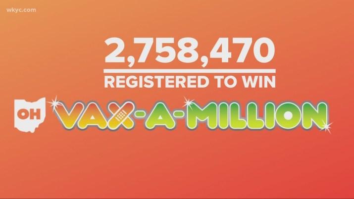 First Vax-a-Million winner pulled   wkyc.com