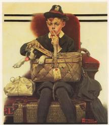 Norman Rockwell Saturday Evening Post Boy
