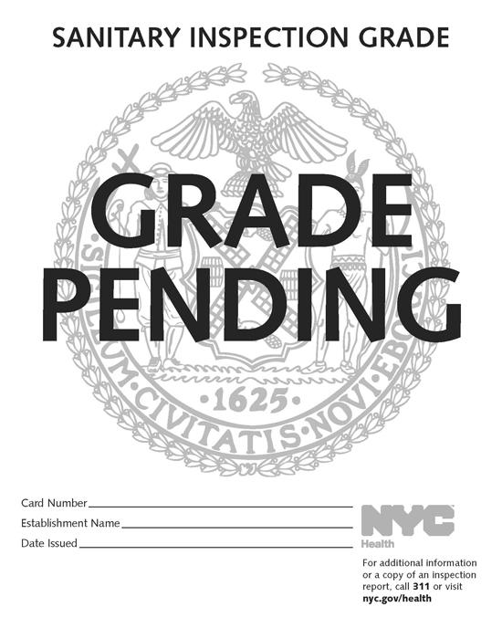Back to School: New York City Restaurants Receive Letter