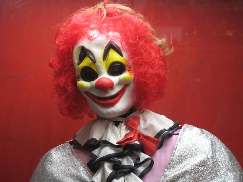 scary clowns on the