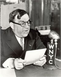 Fiorello LaGuardia speaking on WNYC Radio
