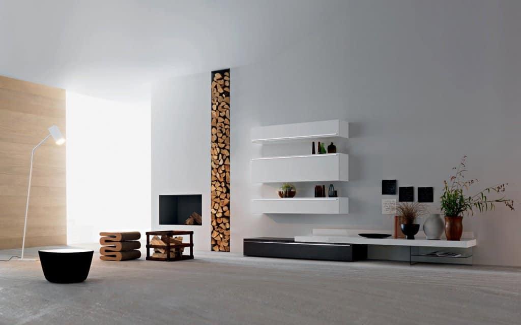 kleiderschränke weiß grau | tv wand lampo l2-18 wohnzimmer