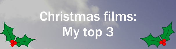 If you hadn't noticed already, I LOVE CHRISTMAS. One thing I've never been a huge fan of though is Christmas films, but here are 3 I actually really like!