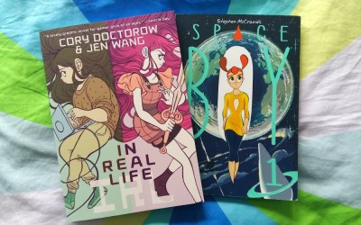 Exploring New Genres, Part 2: My Thoughts on Graphic Novels