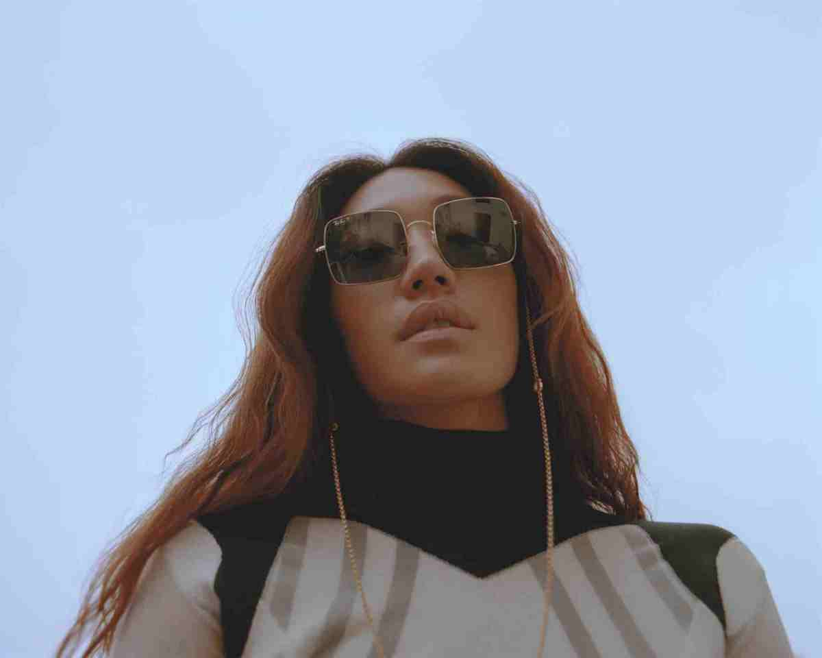 South Korean DJ Peggy Gou on the cover of Rollacoaster Spring/Summer 2019 in roll neck
