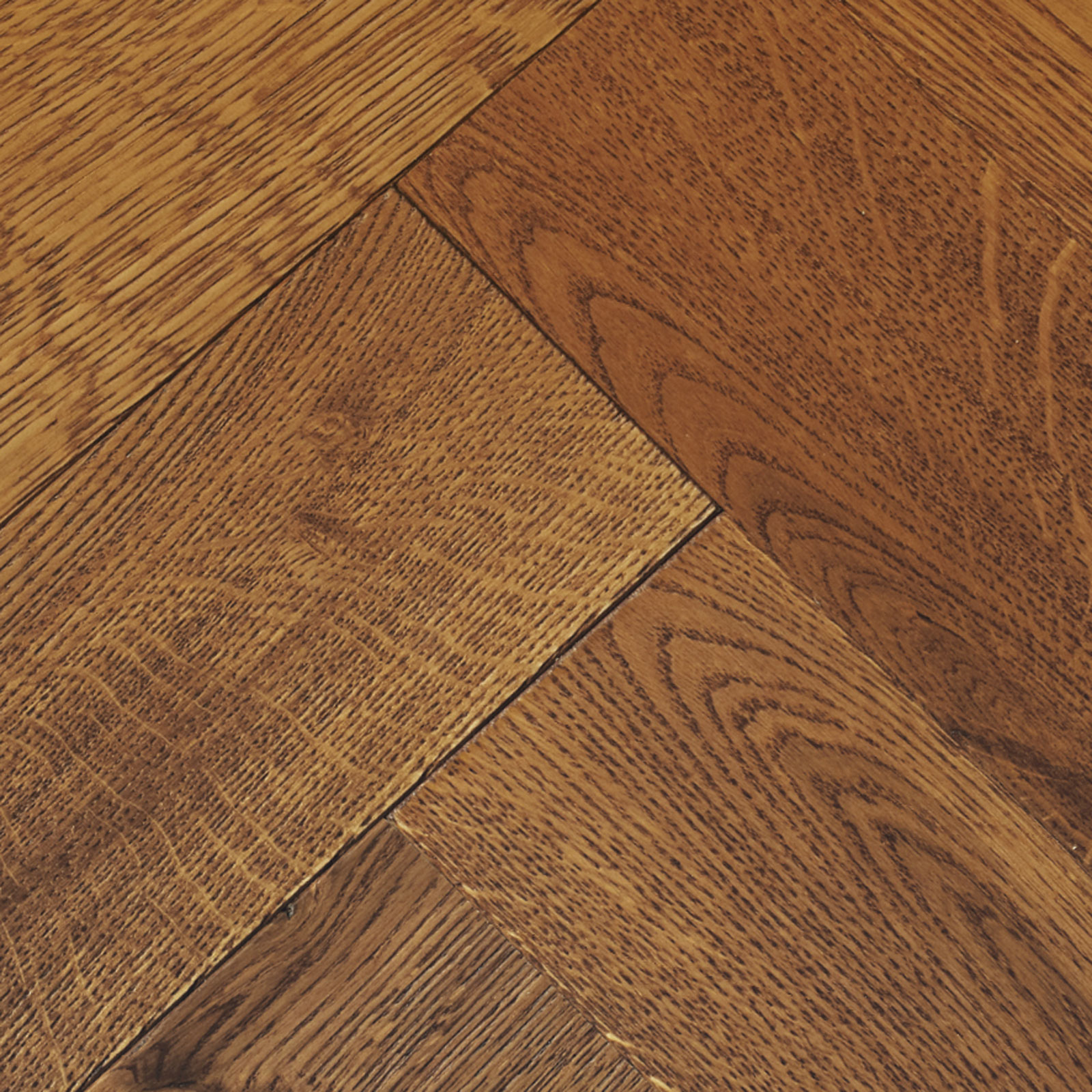 Goodrich Coffee Oak Parquet Flooring  Woodpecker Flooring