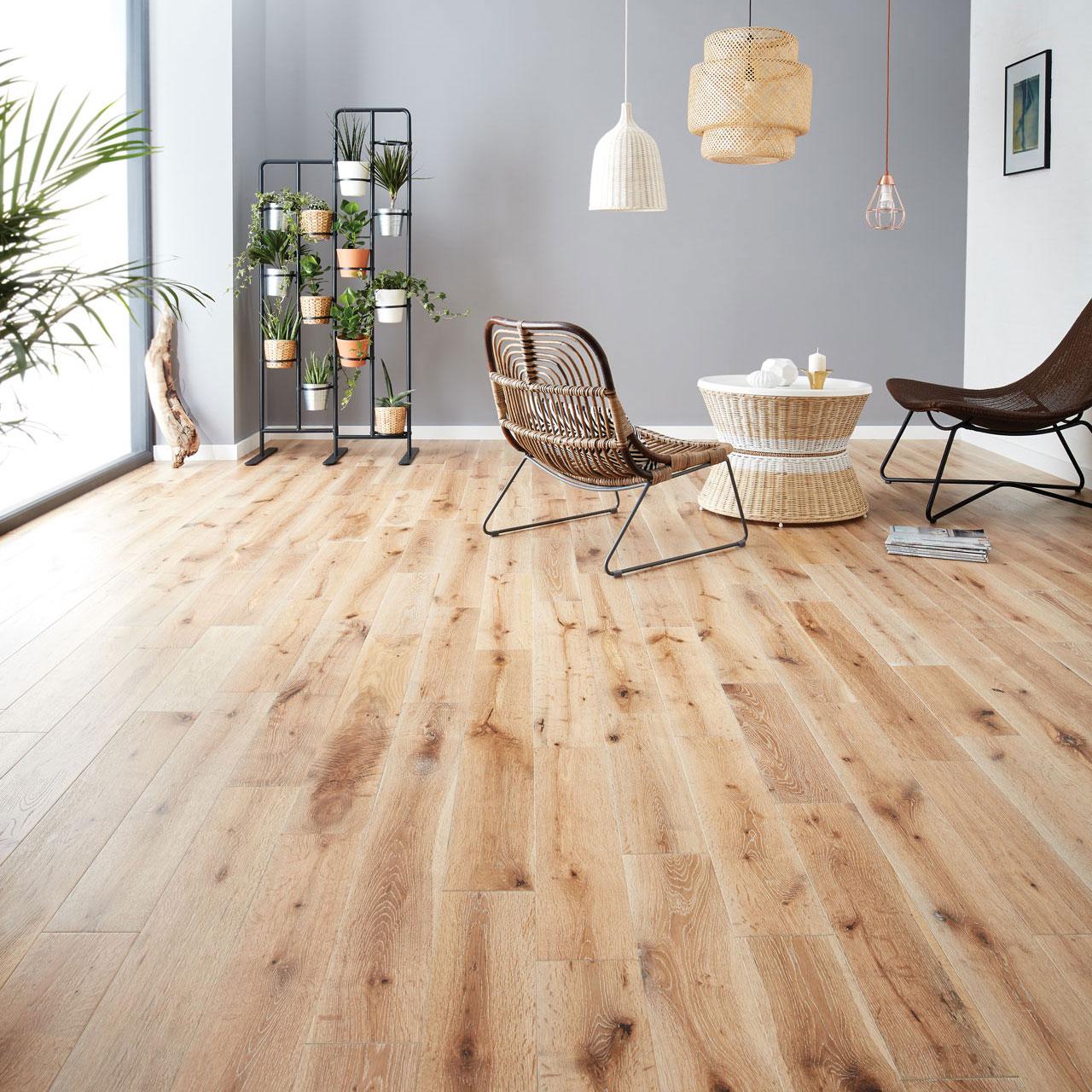 White Washed Oak Wood Flooring  Woodpecker Flooring