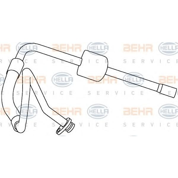 Air Conditioning /AirCon /AC Condenser Hose HELLA 9GS 351