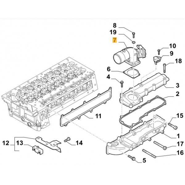 Throttle Body for Citroen Relay, Peugeot Boxer, Fiat