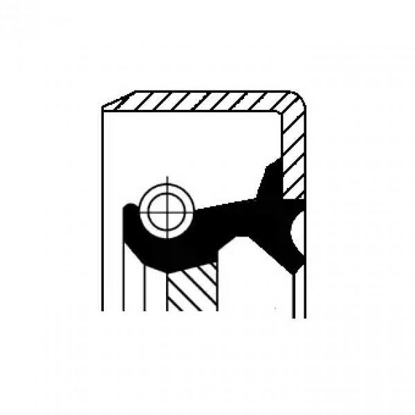 Shaft Seal, manual transmission CORTECO 19033961B