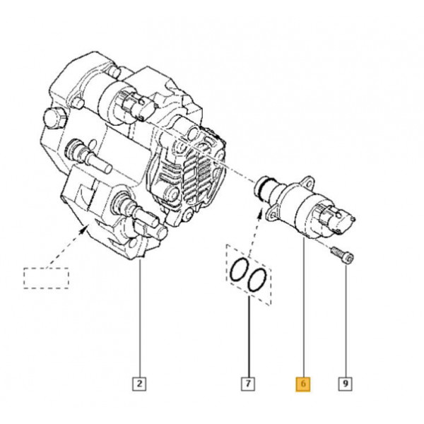 Bosch Fuel Pressure Regulator for Vauxhall Movano, Vivaro