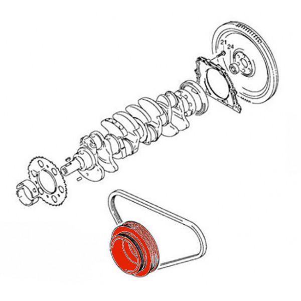 Crankshaft Pulley / Vibration Damper for Suzuki Jimny