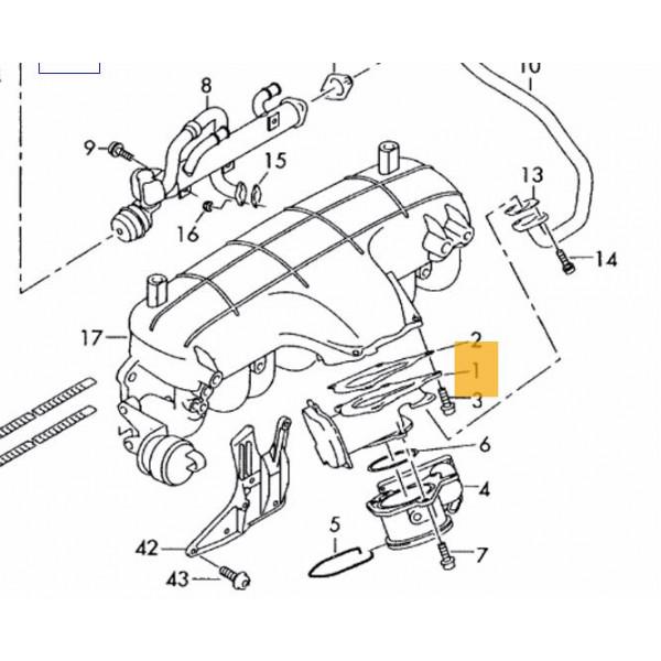 Genuine VDO EGR Valve for Audi A4, A6 2.0 TDI