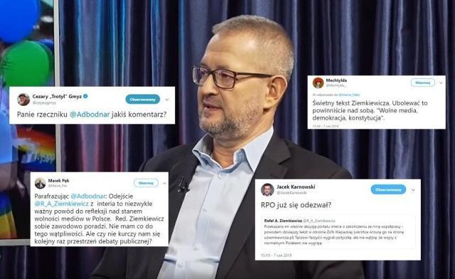 Rafał A. Ziemkiewicz / autor: wPolsce.pl; Twitter