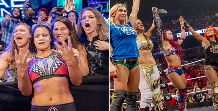 Major Update On The Rumored Four Horsewomen vs. Four Horsewomen Feud -  WrestlingRumors.net