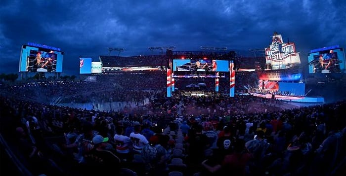 Official Numbers Of WrestleMania 37 Ticket Sales And Live Gate