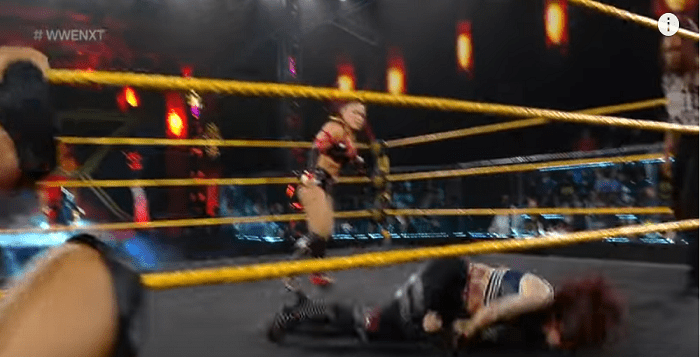 VIDEO: Mercedes Martinez Hospitalized After Scary NXT Spot