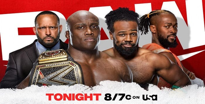 Monday Night Raw Live Coverage And Results – July 12, 2021