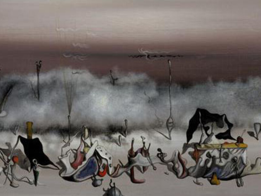 Yves Tanguy Le Ruban des excs The Ribbon of Excess  Scottish National Gallery of Modern Art