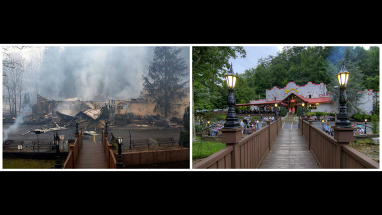 PHOTOS Gatlinburg before and after the fire