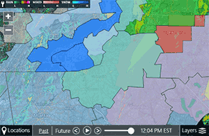 Weather forecast and radar for Greenville Spartanburg