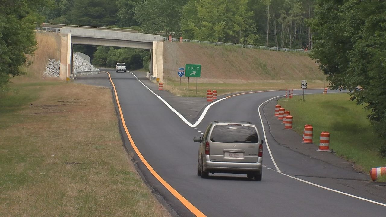 Hwy 74 at I26 in Columbus reopened after construction
