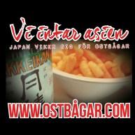 ostbågar intar japan