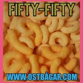 Fifty fifty bågar ringar