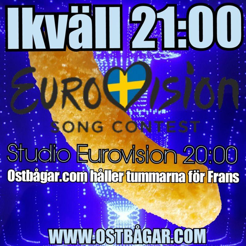 Eurovision song contest ostbågar